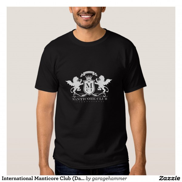 [$27.40] International Manticore Club (Dark Shirts) T Shirts